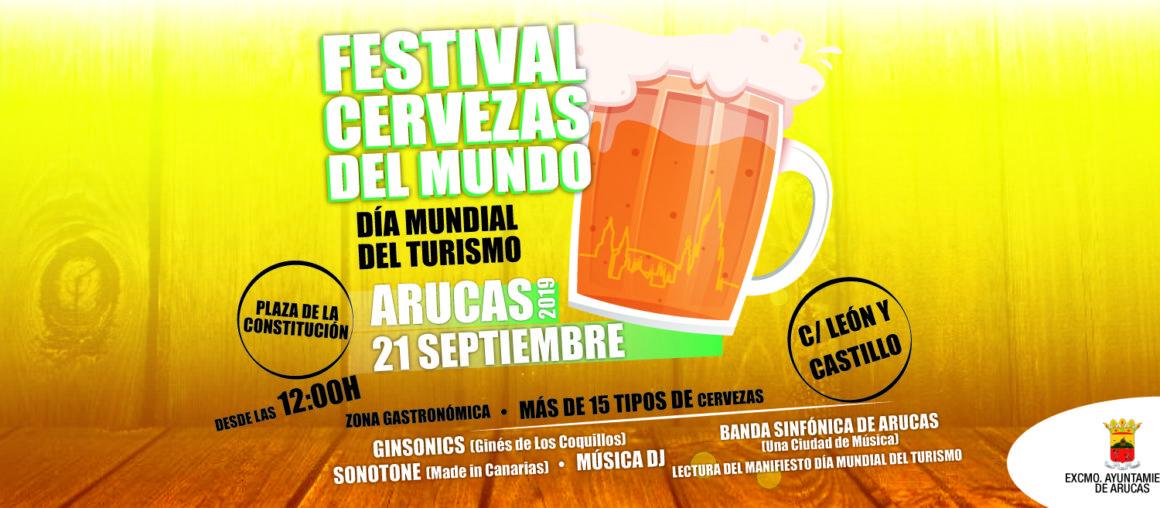 Festival de cervezas del mundo en Arucas